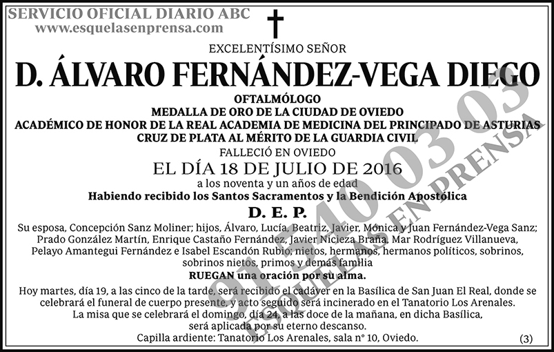 Álvaro Fernández-Vega Diego
